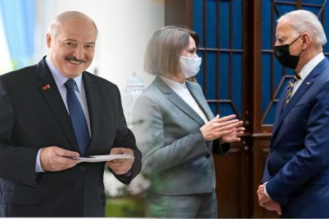 """Лукашенко поручил """"осчастливить"""" Тихановскую по примеру Байдена"""