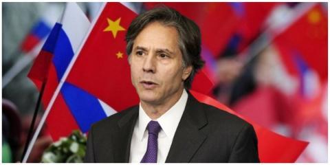 Госсекретарь США заявил об опасной силе России и Китая: