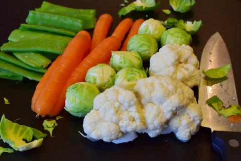 Овощи зелень