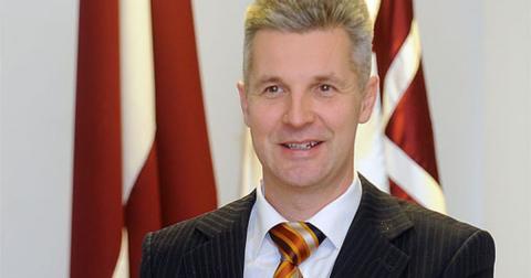 Артис Пабрикс, министр обороны Латвии
