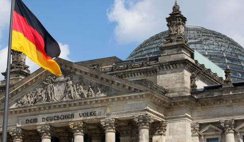 парламент ФРГ картинка