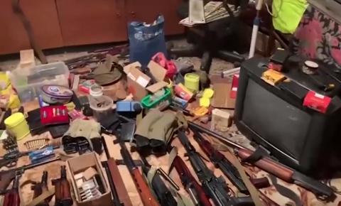 Незаконная мастерская по переделке оружия