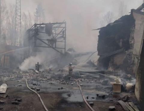Взрыв на пороховом складе под Рязанью