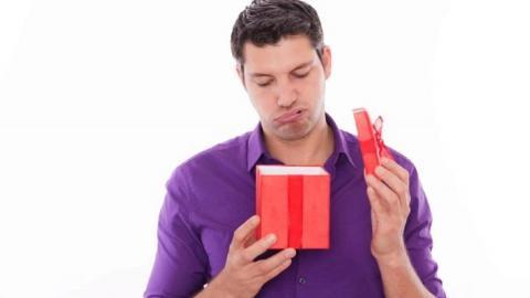 Мужчины равнодушны к подаркам