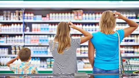 Покупатели в магазине