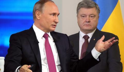Порошенко высмеяли за скопированный у Путина предвыборный лозунг
