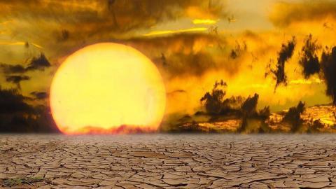 Климатическая катастрофа на Земле