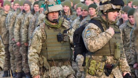 Украина призыв резервистов