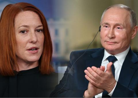 В США извратили комплимент Путина о красоте Псаки