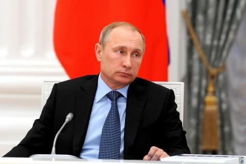 Владимир Путин 2020