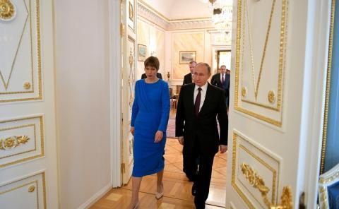 Президент Эстонии прокомментировала вопрос о территориальных претензиях к России