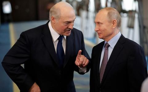 Владимир Путин и Александр Лукашенко фото