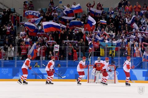 Сборная России по хоккею вышла в финал, «всухую» одолев Чехию на Олимпиаде-2018
