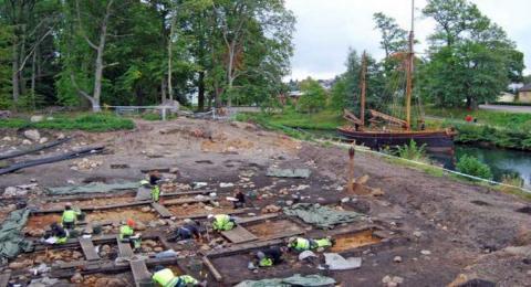 раскопки в Швеции фото