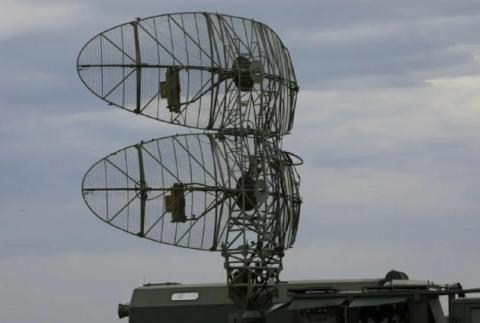 ПВО РЛС Каста под Луганском
