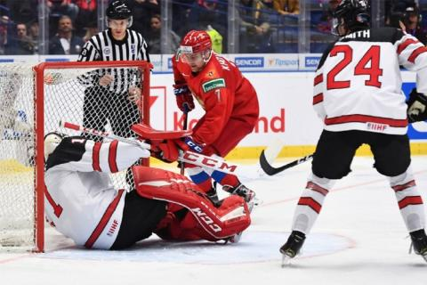 Россия обыграна Канаду - 6:0