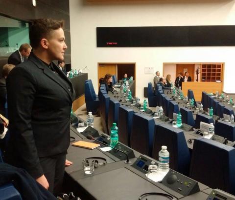 Надежда Савченко привела доказательства того, что не сбегала в Россию