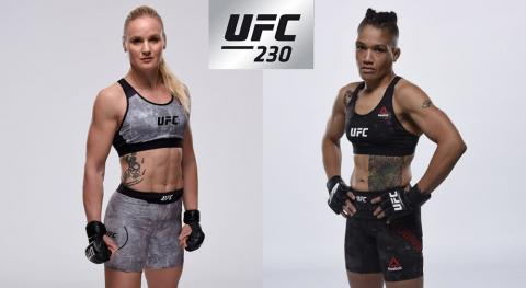 UFC ставят американку Юбэнкс на титульный бой с Валентиной Шевченко