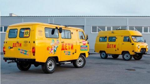 Школьный автобус от УАЗ показали в сети