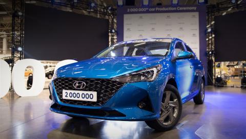 Новый Hyundai Solaris представили в России
