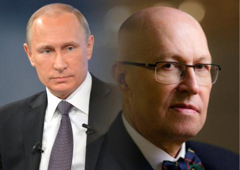 Валерий Соловей и Владимир Путин