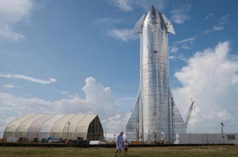 Илон Маск рассказал о «звездолете» Starship
