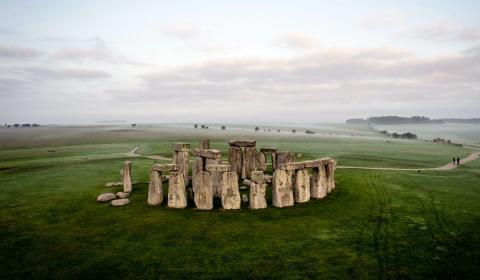 Стоунхендж в Англии фото