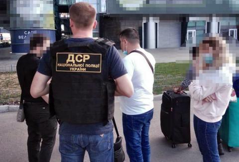 Сотрудник украинской полиции