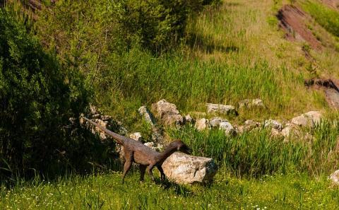 Динозавр юрского периода