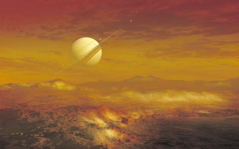 Спутник Сатурна Титан
