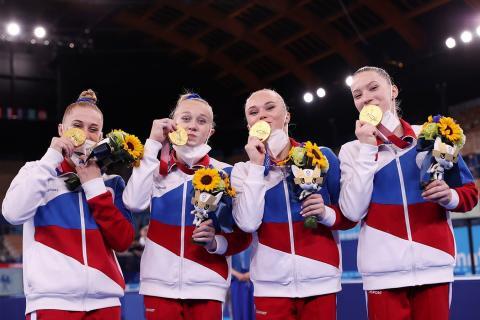 Россиянки на Олимпиаде в Токио