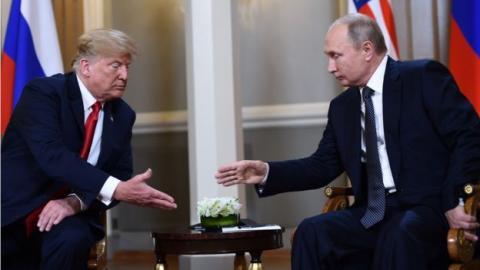 Трамп засомневался в возможности встречи с Путиным в Париже