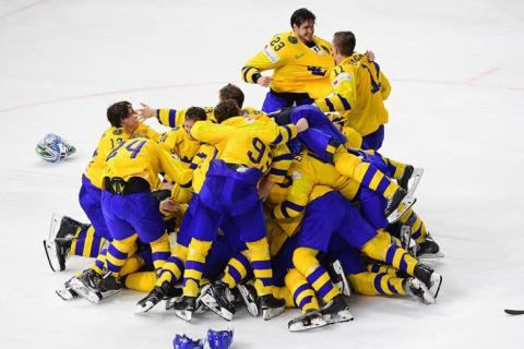 Сборная Швеции стала чемпионом мира по хоккею - 2018