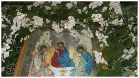 Троица икона праздник
