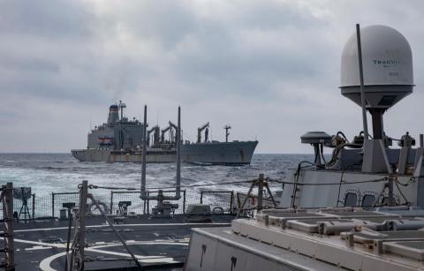 Корабли учение Украина США Чёрное море