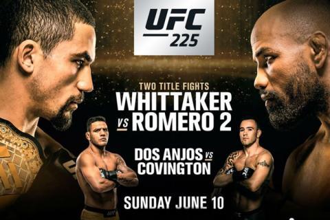 UFC 225: когда. где, участники и самые интересные бои