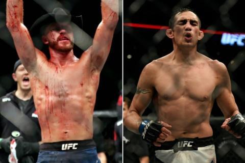 Фергюсон встретится с Серроне на UFC 238