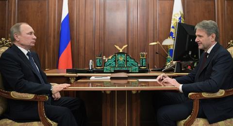 Путин и Ткачев