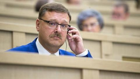 Сенатор Косачев о зарубежном вмешательстве