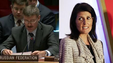 Россия вето ООН