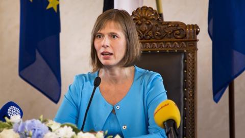 Эстония сделает разметку акватории на границе с Россией