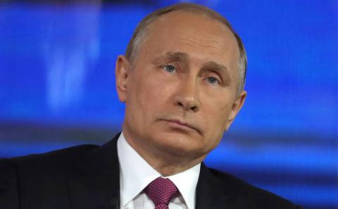Киевский телеканал назвал Путина «президентом Украины»