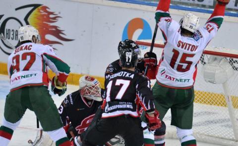 Ак Барс-Авангард, сегодня - 19 марта, КХЛ 2016-2017 плей-офф: полный обзор матча, итоги