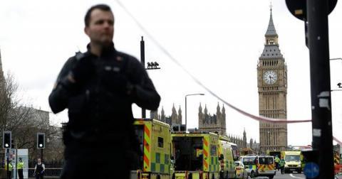 Теракт в Лондоне, как минимум 6 трупов