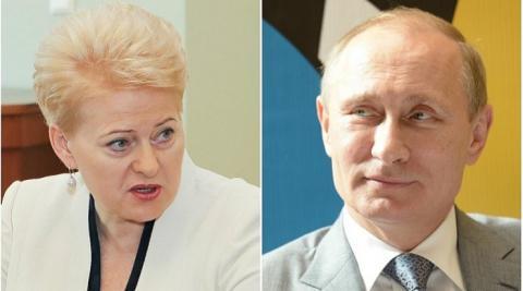 Грибаускайте назвала БелАЭС российским геополитическим проектом