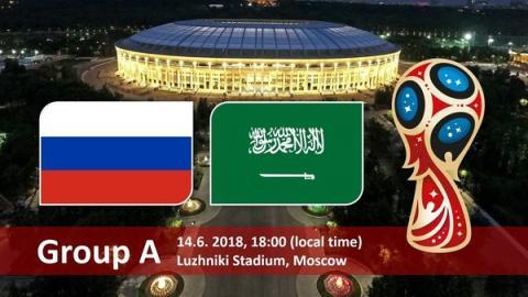 Россия – Саудовская Аравия 14 июня: прямая трансляция онлайн, по каким каналам и во сколько, краткий анонс – статистика встреч