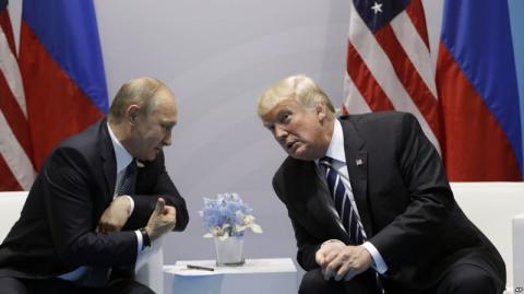Трамп рассказал о «тайной» встрече с Путиным