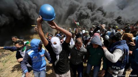 В Газе число погибших возросло до 59 человек