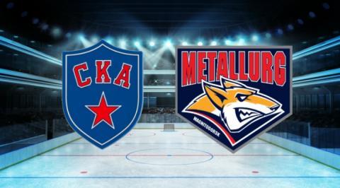 СКА-Металлург: первый матч финала Кубка Гагарина – полный обзор и итоги игры