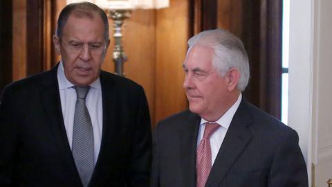 Лавров раскрыл, чего от Тиллерсона так и не дождались на переговорах в Москве